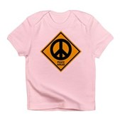 Peace Ahead Infant T-Shirt