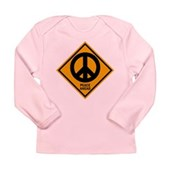 Peace Ahead Long Sleeve Infant T-Shirt