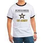 U.S. Army - My Wife is serving Ringer T