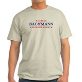 Anti-Bachmann Irony Light T-Shirt