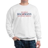Anti-Bachmann Irony Sweatshirt