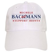 Anti-Bachmann Irony Cap