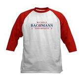 Funny Bachmann Toothpaste Kids Baseball Jersey