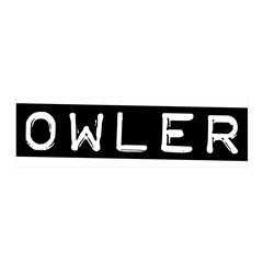 Owler Label 36x11 Wall Decal