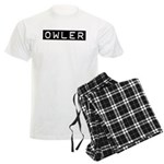 Owler Label Men's Light Pajamas
