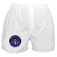 Official Owling Dept Seal Boxer Shorts