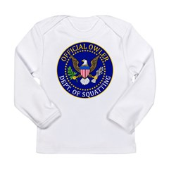 Official Owling Dept Seal Long Sleeve Infant T-Shirt