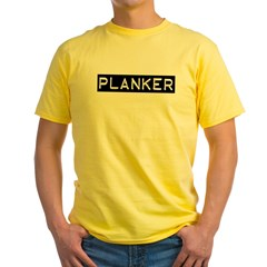Planker Label Yellow T-Shirt