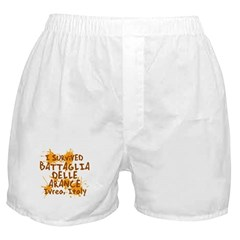 Ivrea Battle Of The Oranges Souvenirs Gifts Tees Boxer Shorts