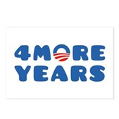4 More Years Postcards (Package of 8)