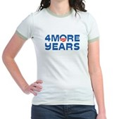 4 More Years Jr. Ringer T-Shirt