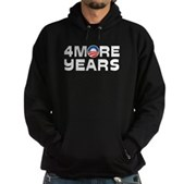 4 More Years Hoodie (dark)