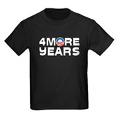 4 More Years Kids Dark T-Shirt