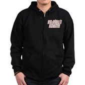 Re-Elect Obama Zip Hoodie (dark)