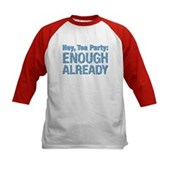 Hey, Tea Party Kids Baseball Jersey