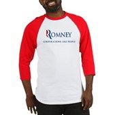 Anti-Romney Corporations Baseball Jersey
