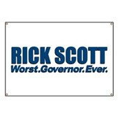 Rick Scott Worst Ever Banner