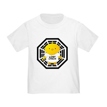 Lost Chick - Dharma Initiative Toddler T-Shirt