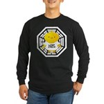 Lost Chick - Dharma Initiative Long Sleeve Dark T-Shirt
