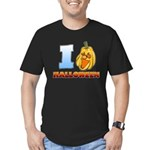 I Love Halloween Men's Fitted T-Shirt (dark)