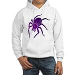 Purple Spider Hooded Sweatshirt