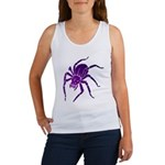 Purple Spider Women's Tank Top