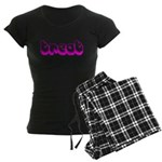 Retro Treat Women's Dark Pajamas