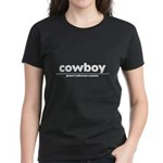 generic cowboy costume Women's Dark T-Shirt