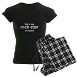 this is my rock star costume Women's Dark Pajamas