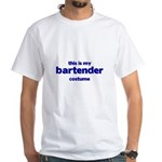 this is my bartender costume White T-Shirt