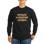 Official Halloween Costume Long Sleeve Dark T-Shirt