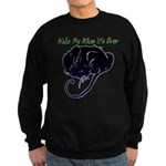 Wake Me When It's Over Dark Sweatshirt (dark)