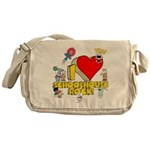 I Heart Schoolhouse Rock! Canvas Messenger Bag