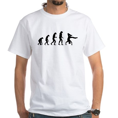 Evolution breakdance White T-Shirt