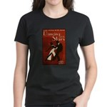 Distressed Retro DWTS Poster Women's Dark T-Shirt