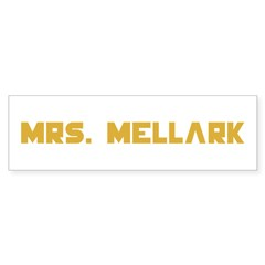 Mrs Mellark Hunger Games Peeta Mellark T-Shirts Sticker (Bumper)