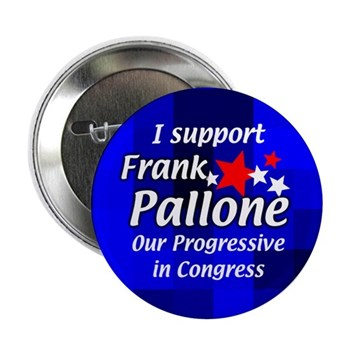I Support Frank Pallone Congressional Campaign Button