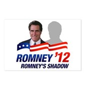Anti-Romney Shadow Postcards (Package of 8)