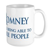 Anti-Romney: Fire People Large Mug