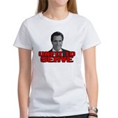 Anti-Romney: Unfit To Serve Women's T-Shirt