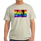 LGBT for Obama Light T-Shirt
