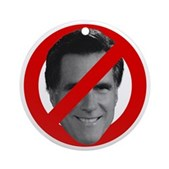 No Mitt Ornament (Round)