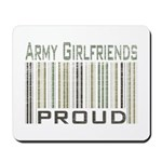 Military Army Girlfriends Proud Mousepad