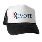 Anti-Romney Remote Trucker Hat