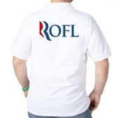 Anti-Romney ROFL Golf Shirt