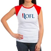 Anti-Romney ROFL Women's Cap Sleeve T-Shirt