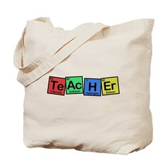 Teacher made of Elements whimsy Tote Bag