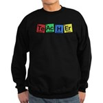 Teacher made of Elements whimsy Sweatshirt (dark)