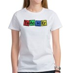 Teacher made of Elements whimsy Women's T-Shirt