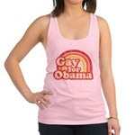 Gay for Obama Racerback Tank Top